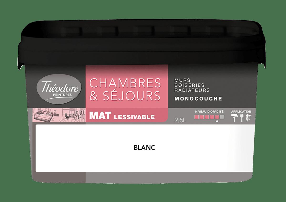 CHAMBRES & SÉJOURS MAT LESSIVABLE MONOCOUCHE
