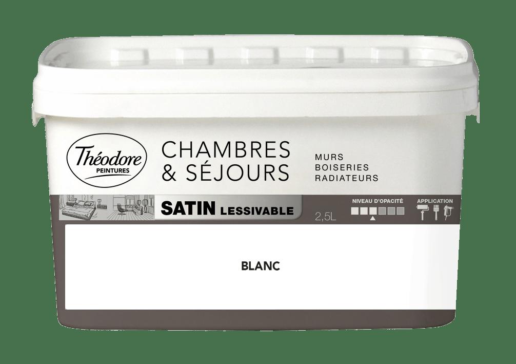 CHAMBRES & SÉJOURS SATIN LESSIVABLE