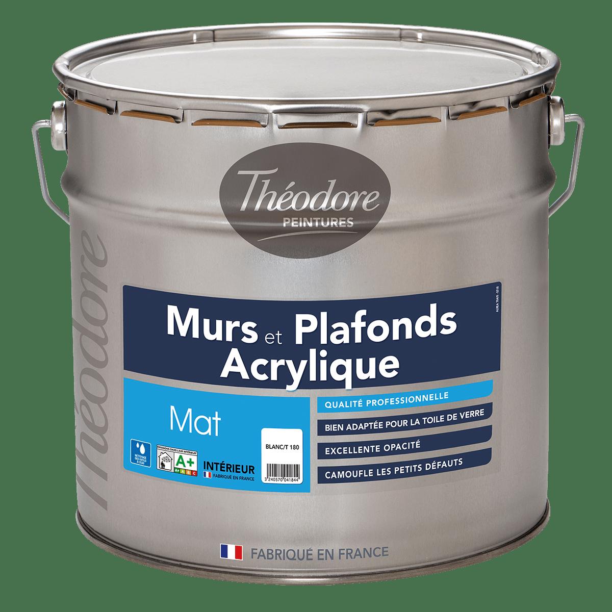 MURS & PLAFONDS ACRYLIQUE MAT