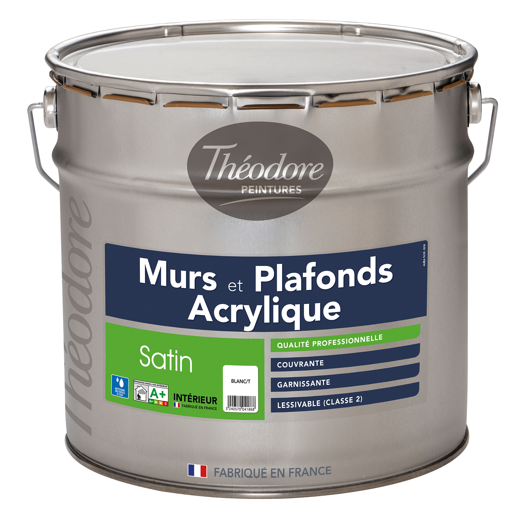 MURS & PLAFONDS ACRYLIQUE SATIN