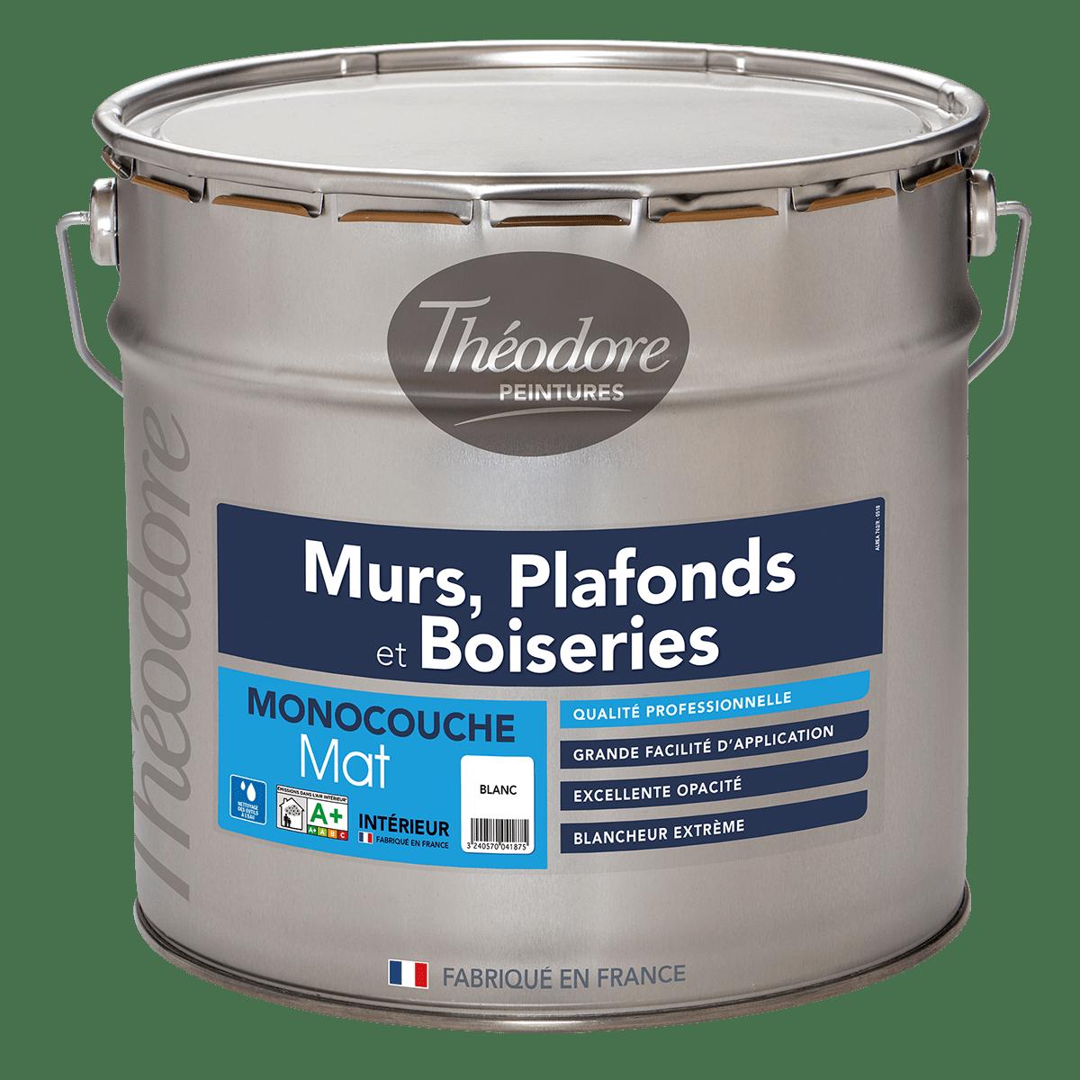 MURS, PLAFONDS ET BOISERIES MAT MONOCOUCHE