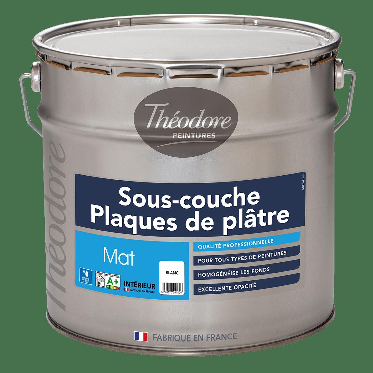 SOUS-COUCHE PLAQUES DE PLÂTRE